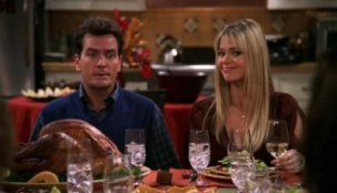 Two and a Half Men 01x10 : Merry Thanksgiving- Seriesaddict